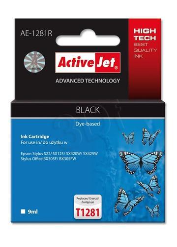 ActiveJet AE-1281R tusz czarny do drukarki Epson (zamiennik Epson T1281) Premium