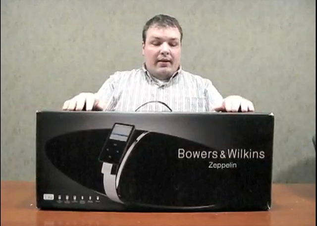 Bowers & Wilkins Zeppelin - unboxing produktu