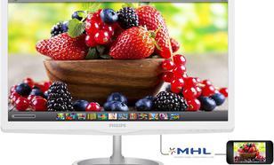 27'' 276E6ADSS IPS-ADS Quantum Dot DVI HDMI MHL Biały