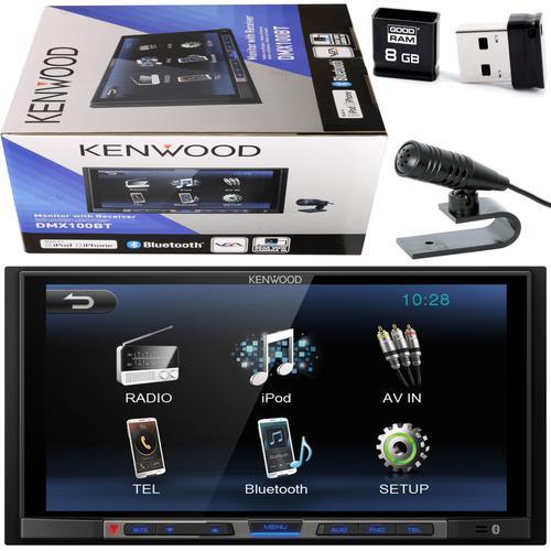 tanie radio samochodowe Kenwood DMX100BT