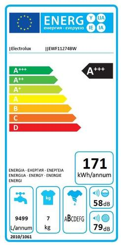 Electrolux EWF11274BW