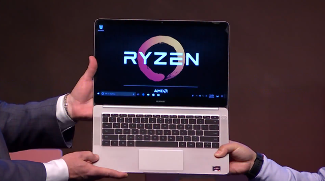 Huawei MagicBook z AMD