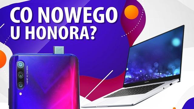 Nowe urządzenia Honora: Magicbook z AMD, View 30 Pro, 9X Pro