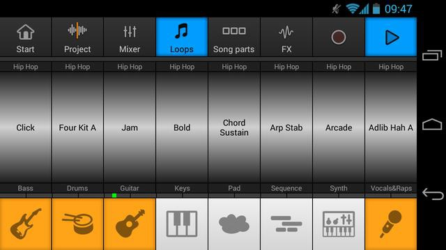 Music Maker Jam na Android