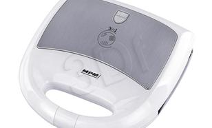 Opiekacz wielofunkcyjny MPM MOP-10M (900W Biało-srebrny)