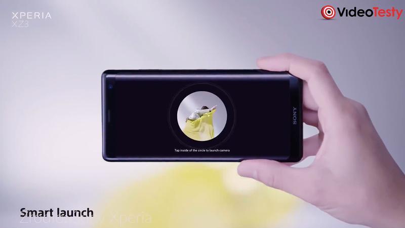 Xperia XZ3 ma aparat napędzany sztuczną inteligencją