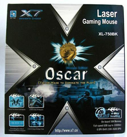 pudełko A4Tech Oscar