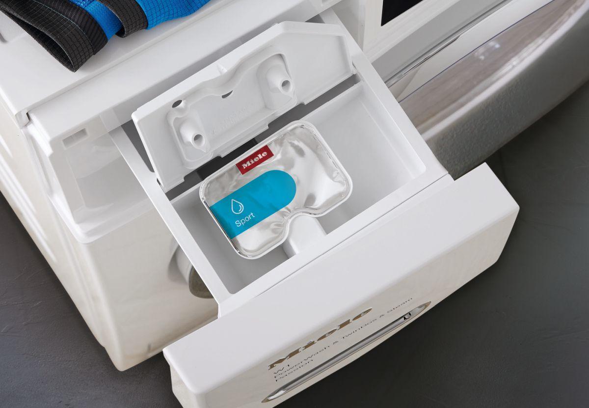 MieleW1 Active autodozowanie detergentu w kapsułkach