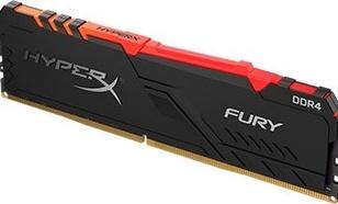 HyperX Fury RGB, DDR4, 8 GB,2400MHz, CL15 (HX424C15FB3A/8)