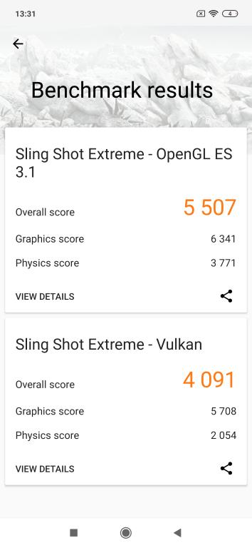 Xiaomi Mi 9 3D Mark