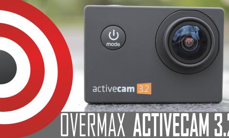 Tania Kamerka Sportowa z Akcesoriami - Overmax Activecam 3.2 - Test - Recenzja - Prezentacja PL