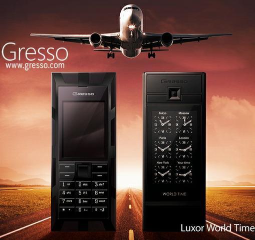 Gresso Luxor World Time