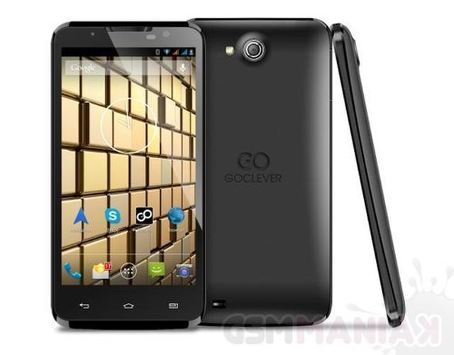 GOCLEVER INSIGNIA 5 - niedrogi smartfon z dwoma bateriami