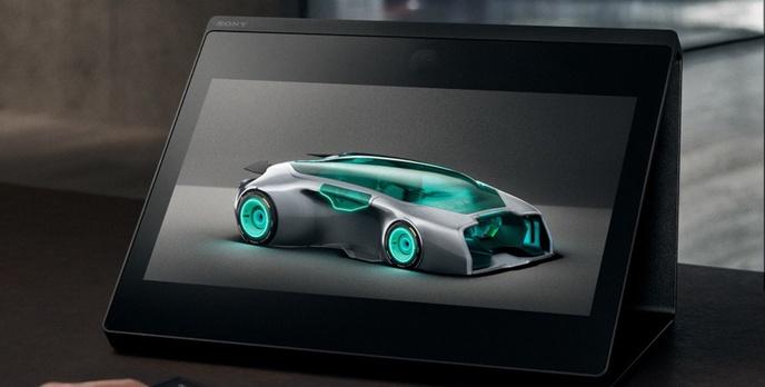 Sony przedstawia swój holograficzny monitor 3D