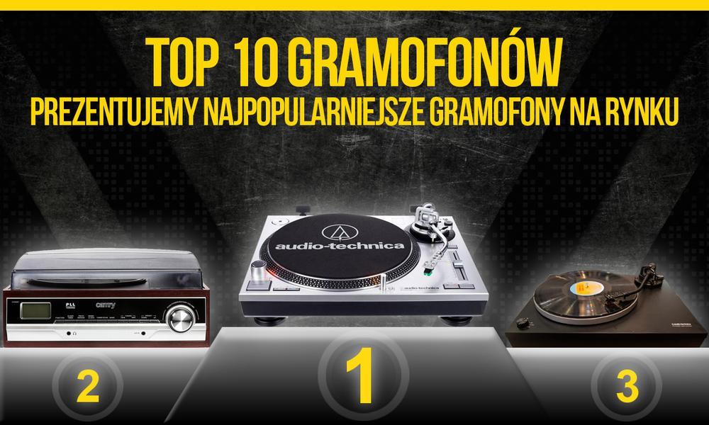 TOP 10 Gramofonów – Prezentujemy Najpopularniejsze Gramofony na Rynku