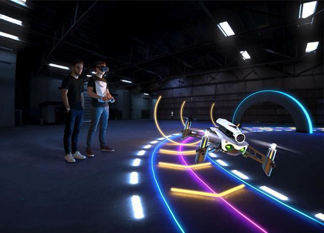 Dron wyścigowy to przede wszystkim świetna zabawa.