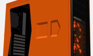 Corsair Graphite 230T Windowed ORANGE/ORANGE LED