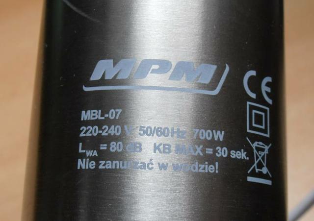 MPM model MBL-07