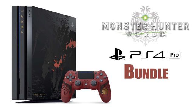 ps4 pro monster hunter edition