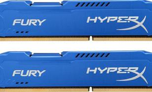 Kingston HyperX FURY Blue DDR3 DIMM 16GB 1333MHz (2x8GB) HX313C9FK2/16