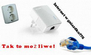 Internet w gniazdku elektrycznym - to działa!  [PORADNIK]