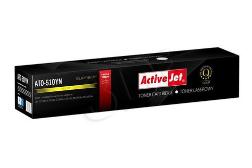 ActiveJet ATO-510YN żółty toner do drukarki laserowej OKI (zamiennik 44469722) Supreme