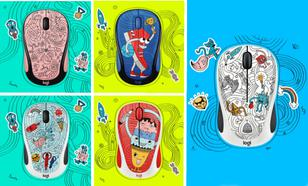 Logitech M238 Wireless Doodle Collection