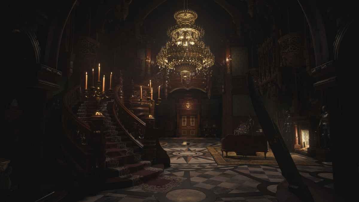Resident Evil Village - Piękne wnętrza