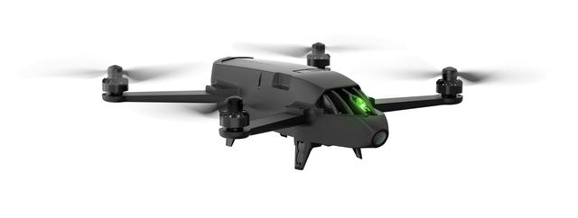 Dron z systemem od Parrot.