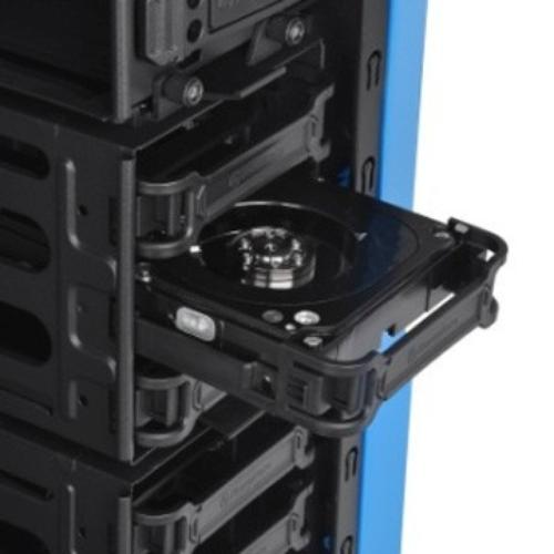 Thermaltake Chaser A31 Thunder USB 3.0 Window (2x120mm, LED), niebieska