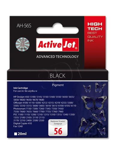 ActiveJet AH-56S tusz czarny do drukarki HP (zamiennik HP 56 C6656A) Premium Standard