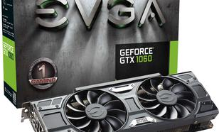EVGA GeForce GTX 1060 Gaming ACX 3.0 6GB GDDR5 (192 Bit) DVI, HDMI, 3xDP BOX (06G-P4-6262-KR)