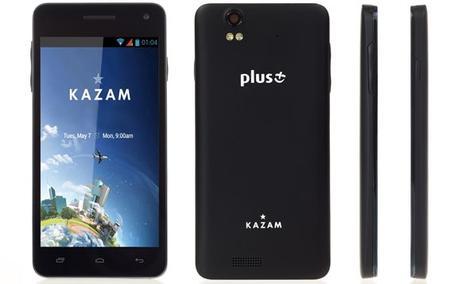 KAZAM TV 4.5 - Smartfon z Telewizją Już Dostępny