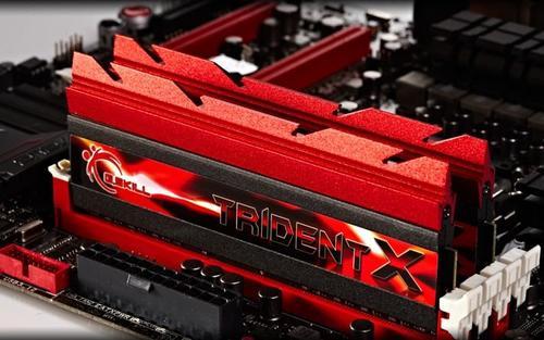 G.SKILL DDR3 32GB (4x8GB) TridentX X79 1600MHz CL7 XMP