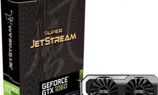 Palit GeForce GTX 1060 3GB SuperJetStream GDDR5 (192 Bit) DVI, HDMI, 3xDP, BOX (NE51060S15F9J)