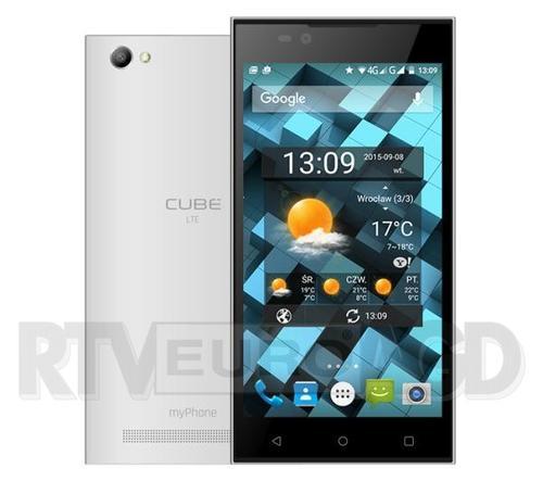 myPhone Cube LTE (biały)