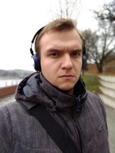 Selfie z odcięciem Motorola One