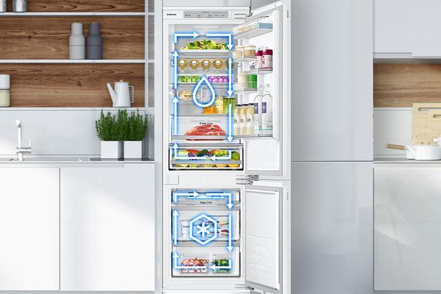 lodówka pod zabudowę Samsung z No Frost