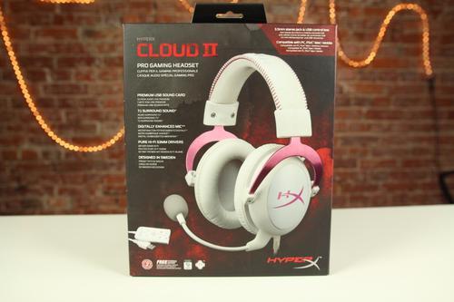 HyperX Cloud II (Różowy-biały)