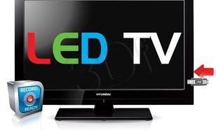 """TV 26"""" LED Hyundai LLH26714MP4CR (DVB-T, 50Hz, USB multi)"""