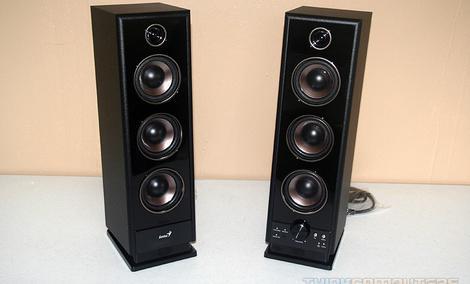 Genius SP-HF2020 - funkcjonalne głośniki o sporej mocy