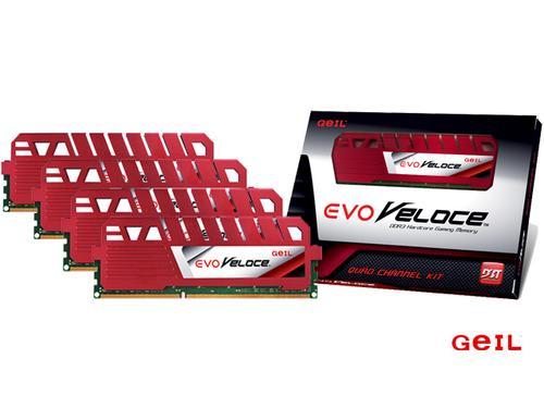 Geil DDR3 EVO Veloce 32GB/24 00 (4*8GB) CL11-13-13-30