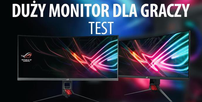 Test Asus ROG Strix XG35VQ - Duży monitor dla wymagających graczy