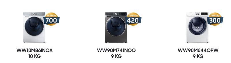 W przecenie są różne pralki Samsunga