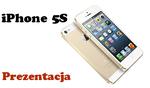 Apple iPhone 5S Prezentacja