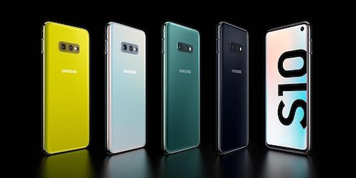 Samsung Galaxy S10e oferuje ciekawe kolory obudowy