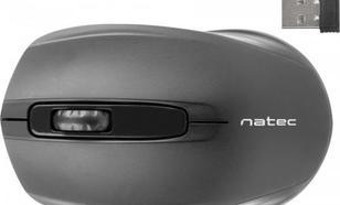 Natec optyczna Jay Nano 1600dpi czarna