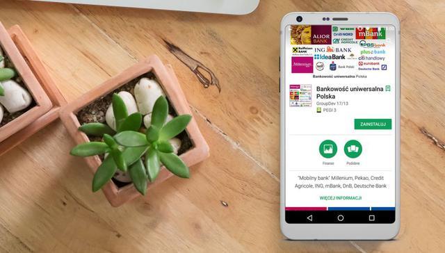 Fałszywa aplikacja do mobilnej bankowości
