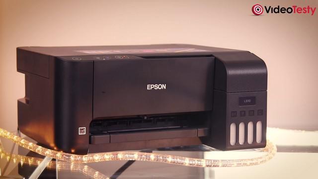 Epson L4160 -drukarka tania w utrzymaniu