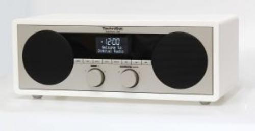 TECHNISAT DigitRadio450 CYFROWE DAB+,FM BIAŁE